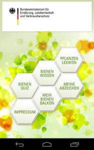 Bienenweidepflanzen-App